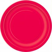 Ruby Red 9 Inch Plates (pack&nbsp;quantity&nbsp;16) 