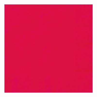 Ruby Red 33cm Napkins (pack quantity 20)