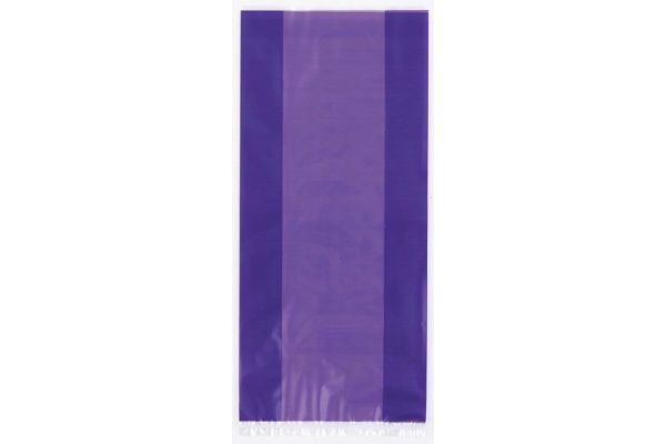 Purple Cello Bags (pack quantity 30)
