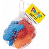 Water Pistols Net Bag (pack quantity 8)