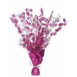 Pink Glitz 80th Centerpiece