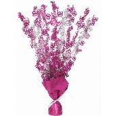 Pink Glitz 90th Centerpiece
