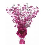 Pink Glitz 100th Centerpiece