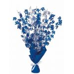 Blue Glitz 50th Centerpiece