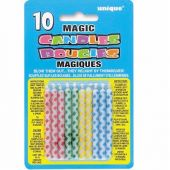  Diamond Dot Magic Candle (pack&nbsp;quantity&nbsp;10) 