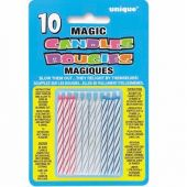 Magic Multi Candles (pack quantity 10)