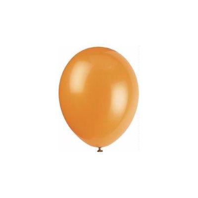 12 Inch Citrus Orange Balloons (pack quantity 10)