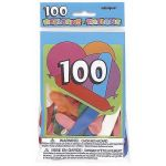  Party Balloons (pack&nbsp;quantity&nbsp;100) 