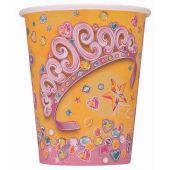 9oz Pretty Princess Cups (pack quantity 8)