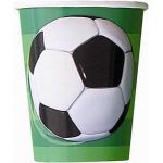  9oz 3d Soccer Cups (pack&nbsp;quantity&nbsp;8) 