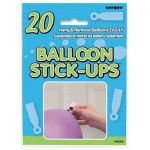 Balloon Stick Ups (pack quantity 20)