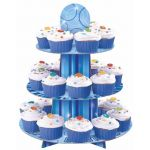 Glitz Blue Cupcake Stand