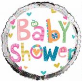 Baby Shower 18 Inch Foil Balloon