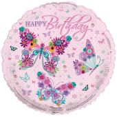 Birthday Female 18 Inch Foil Balloon