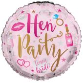Hen Party 18 Inch Foil Balloon