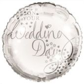 Wedding 18 Inch Foil Balloon