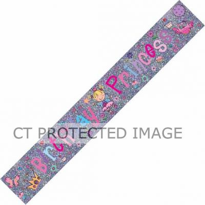 Princess 9ft Banner