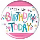Birthday Jumbo Badge
