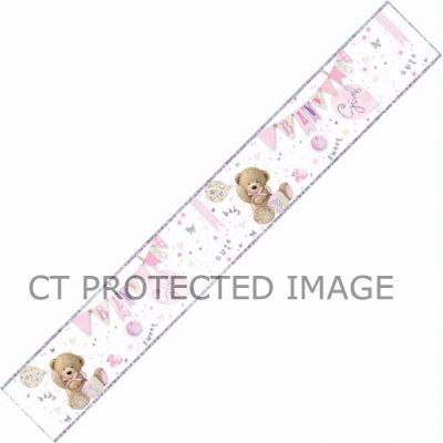 9ft Baby Girl Banner