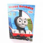 Thomas Open Birthday Greetings Card