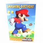 Mario Open Birthday Greetings Card