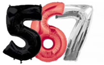 Numeral Foil Balloons party products