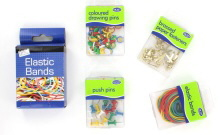 Rubber Bands, Pins&Clips
