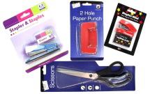 Hole Punches, Staplers&Scissors