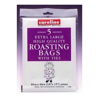 12x17 Inch Large Roasting Bags   (pack quantity 5) X10