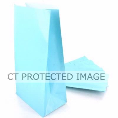Baby Blue Party Bags (pack quantity 12)