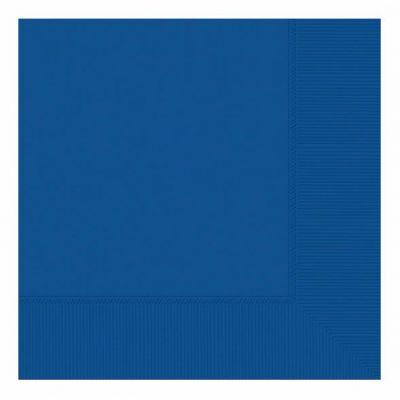 33cm 2ply Royal Blue 33cm Napkins (packquantity50)