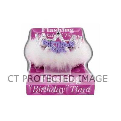 Birthday Girl Flashing Tiara