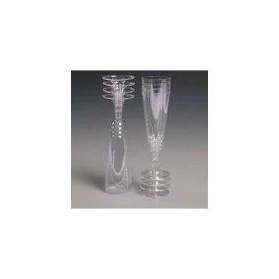 150ml Plastic Champagne Glasses (packquantity8)