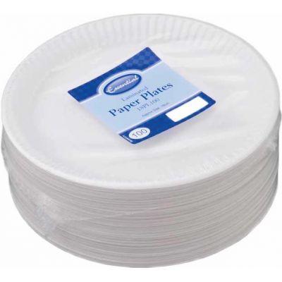 18cm Paper Plates (packquantity100)