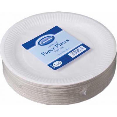 23cm Paper Plates (packquantity100)