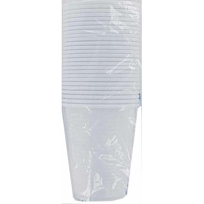 20cl White Plasic Cups (packquantity25)