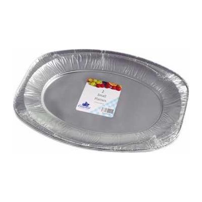 Small Foil Platters (packquantity2)