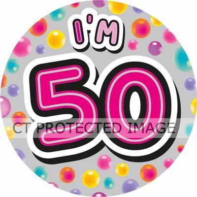 50 & Fab Big Badge