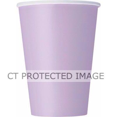 9oz Lavendar Cups (packquantity14)