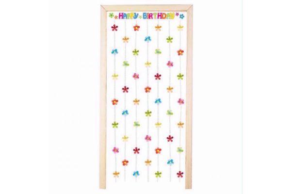 Birthday Power Door Curtain