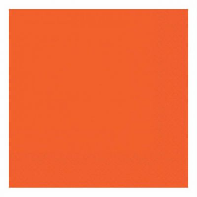 33cm 2ply Orange 33cm Napkins (packquantity50)