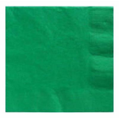 2ply Festive Green 33cm Napkins (packquantity20)