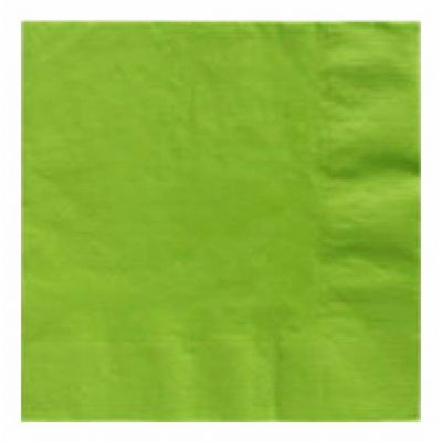 33cm 2ply Kiwi Green 33cm Napkins (packquantity20)
