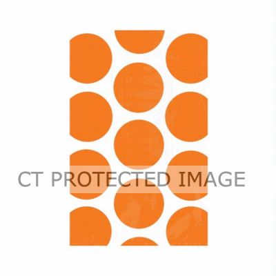 Orange Peel Dots Favor Bags (pack quantity 10)