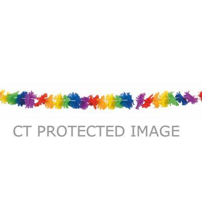 3m Flower Rainbow Garland