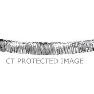 6m Silver Metallic Fringe Decoration