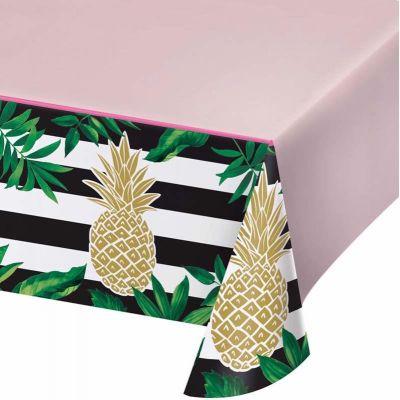 Golden Pineapple Tablecover
