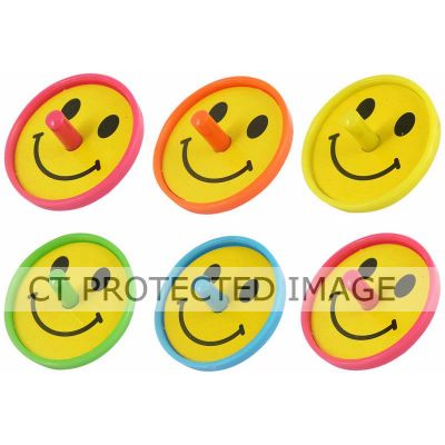 Smile Spinning Top In Bag (packquantity6)