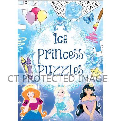 Ice Princess Fun Puzzle Books  48s