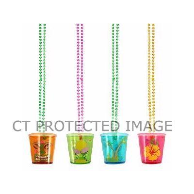 4assorted Hawaiian Shot Glass